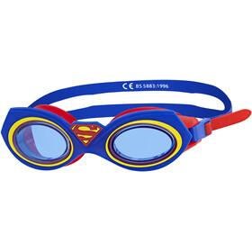 Zoggs Superman Character Lapset uimalasit , punainen/sininen